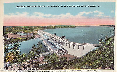 Bagnell Dam and Lake of The Ozarks-Missouri - Cakcollectibles