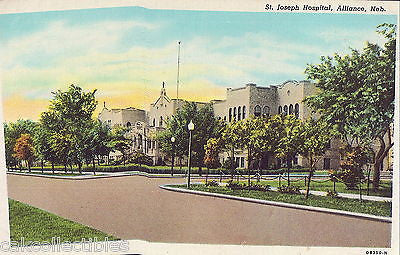 St. Joseph Hospital-Alliance,Nebraska 1945 - Cakcollectibles - 1