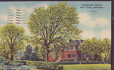 Residential Section-Boys Town,Nebraska 1953 - Cakcollectibles