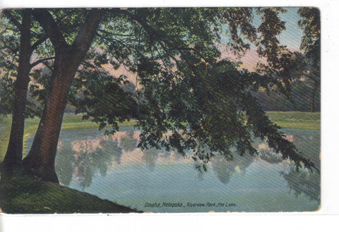 The Lake,Riverview Park-Omaha,Nebraska - Cakcollectibles - 1