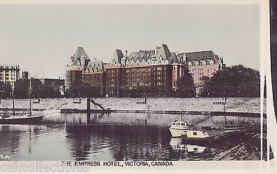 Colored RPPC-The Empress Hotel-Victoria,Canada - Cakcollectibles - 1