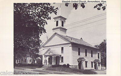Goodale United Church-Bernardston,Massachusetts - Cakcollectibles