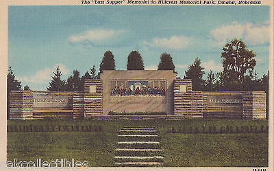 "The ""Last Supper"" Memorial in Hillcrest Memorial Park-Omaha,Nebraska - Cakcollectibles"