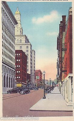 Main Street,Looking North - Davenport,Iowa - Cakcollectibles - 1