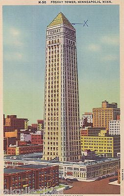Foshay Tower-Minneapolis,Minnesota - Cakcollectibles