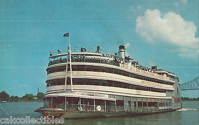S.S. President,Mississippi River Boat-New Orleans,Louisiana 1962 - Cakcollectibles