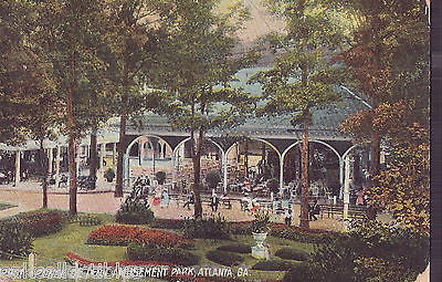 Ponce De Leon Amusement Park-Atlanta,Georgia 1909 - Cakcollectibles - 1