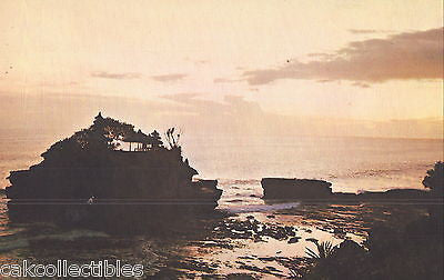 Giant Rock and Temple of Tanahlot during sunset-Bali - Cakcollectibles