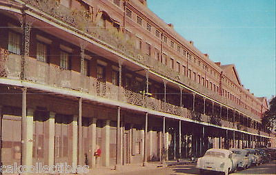View of The Pontalba Apartments-New Orleans,Louisiana - Cakcollectibles
