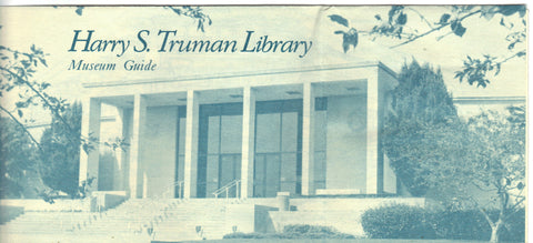 Harry S. Truman Library Museum Guide Brochure