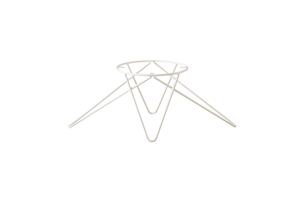 Hairpin Table Legs Cero Pedestal Triangular White