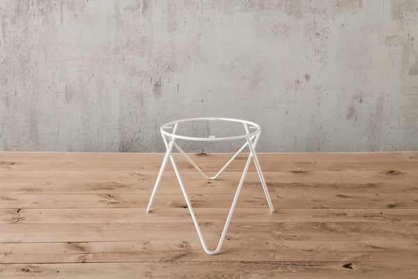 Hairpin Table Legs Cero Pedestal Triangular Front
