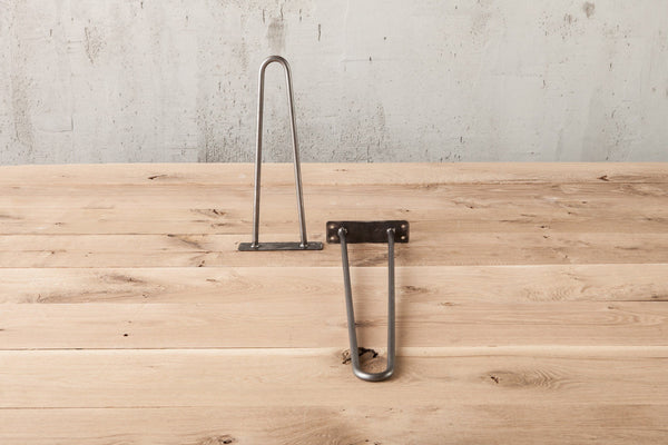 Hairpin Table Legs - 90 Degree Image