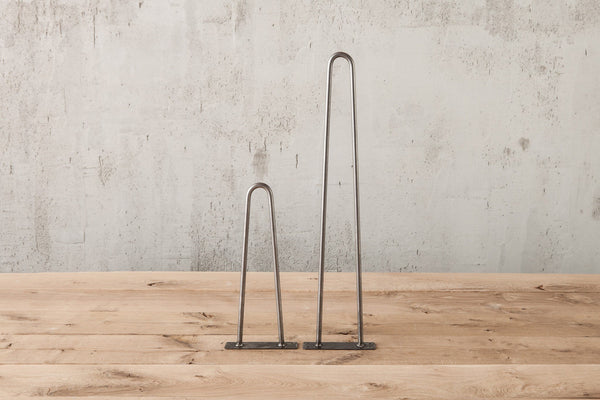 Hairpin Table Legs - 90 Degree Two Sizes