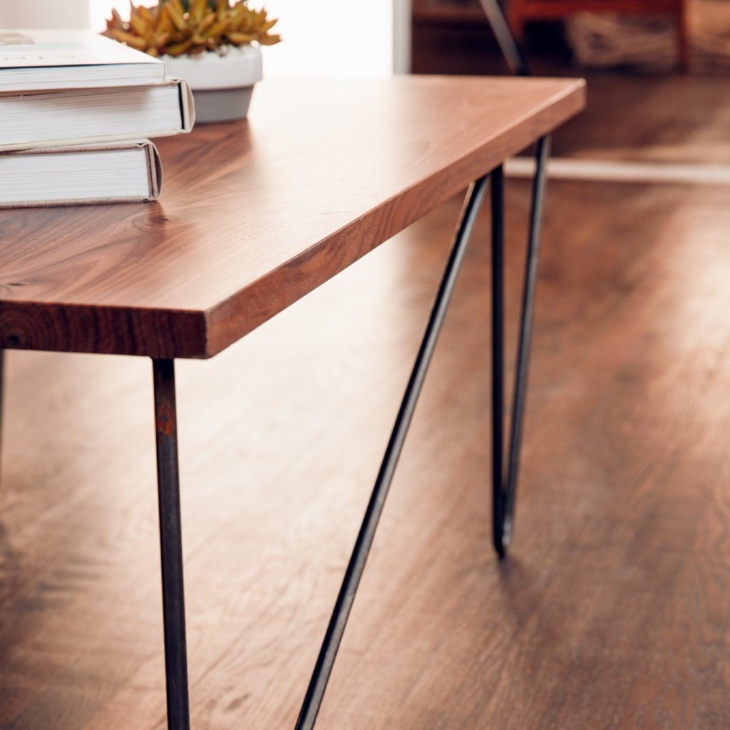Offset Hairpin Coffee Table Leg Set & Offset Hairpin Coffee Table Leg Set | DIY Furniture Store