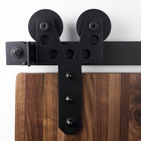 Duo Wheel Barn Door Hardware Kit