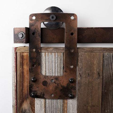 Industrial Square Barn Door Hardware Kit