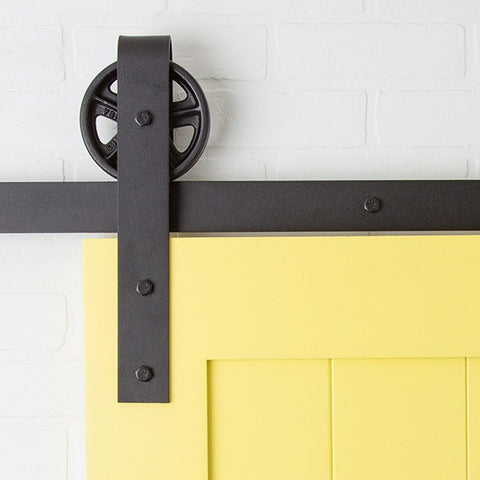 Minimal Barn Door Hardware Kit