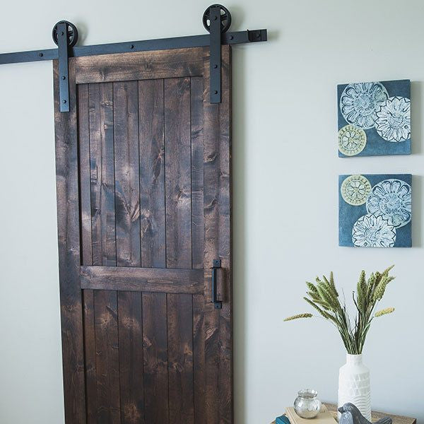 Minimal Long Barn Door Hardware Kit