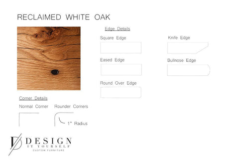 Reclaimed White Oak