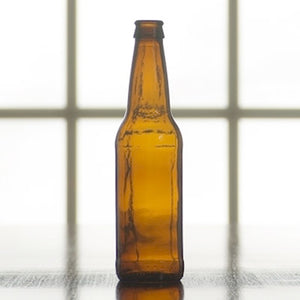 12oz Amber Beer Bottles - Case of 24