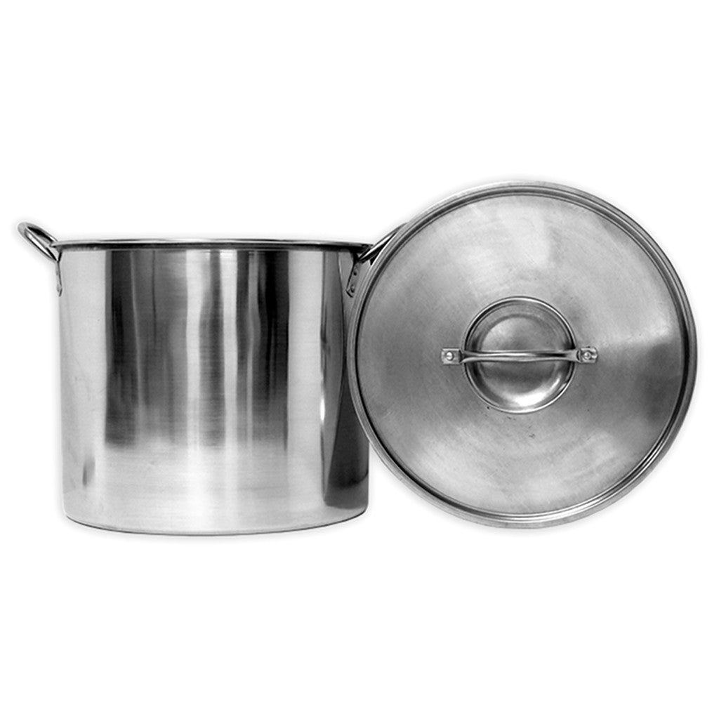 20qt Economy Stainless Steel Stock Pot with Lid