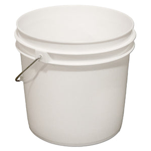 2 Gallon Plastic Bucket with Metal Handle