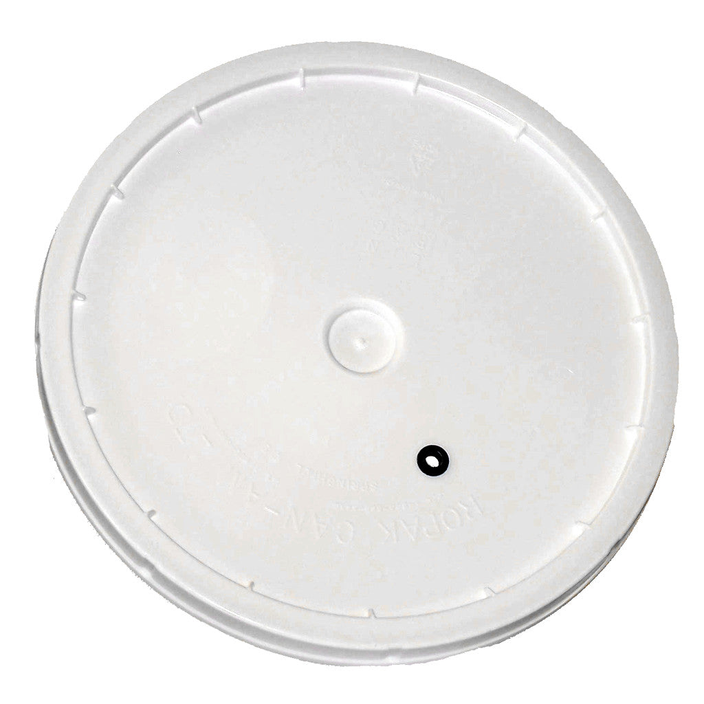 2 Gallon Lid With Hole And Grommet For Bucket With Metal Handle