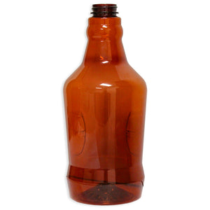 64oz Amber Plastic Growler