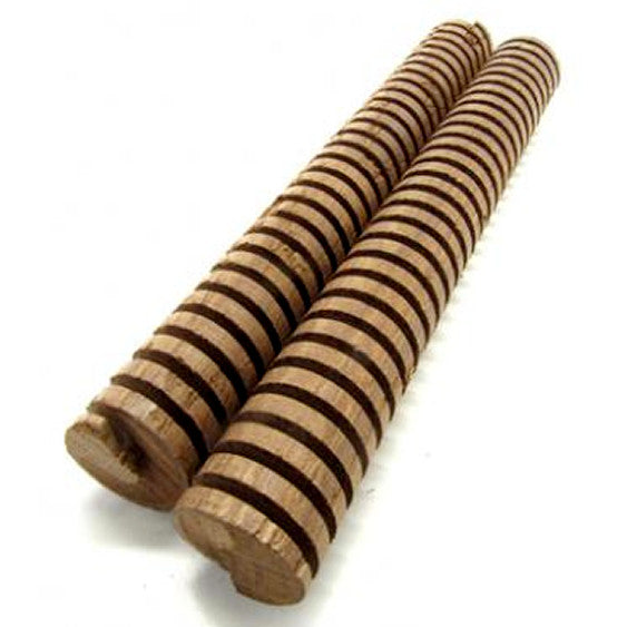 French Oak Spiral (Light Toast), 8in - 2-Pack
