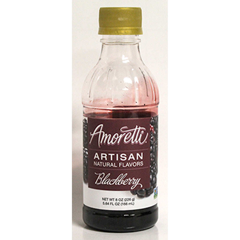Amoretti Natural Blackberry Artisan Flavor, 8oz
