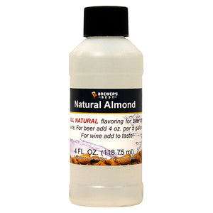 Brewer's Best Natural Almond Flavoring, 4oz