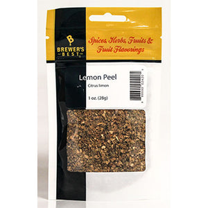 Brewer's Best Dried Lemon Peel, 1oz