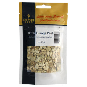 Brewer's Best Dried Bitter Curacao Orange Peel, 1oz