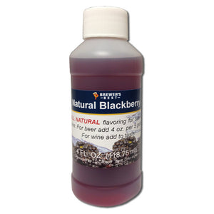 Brewer's Best Natural Blackberry Flavoring, 4oz