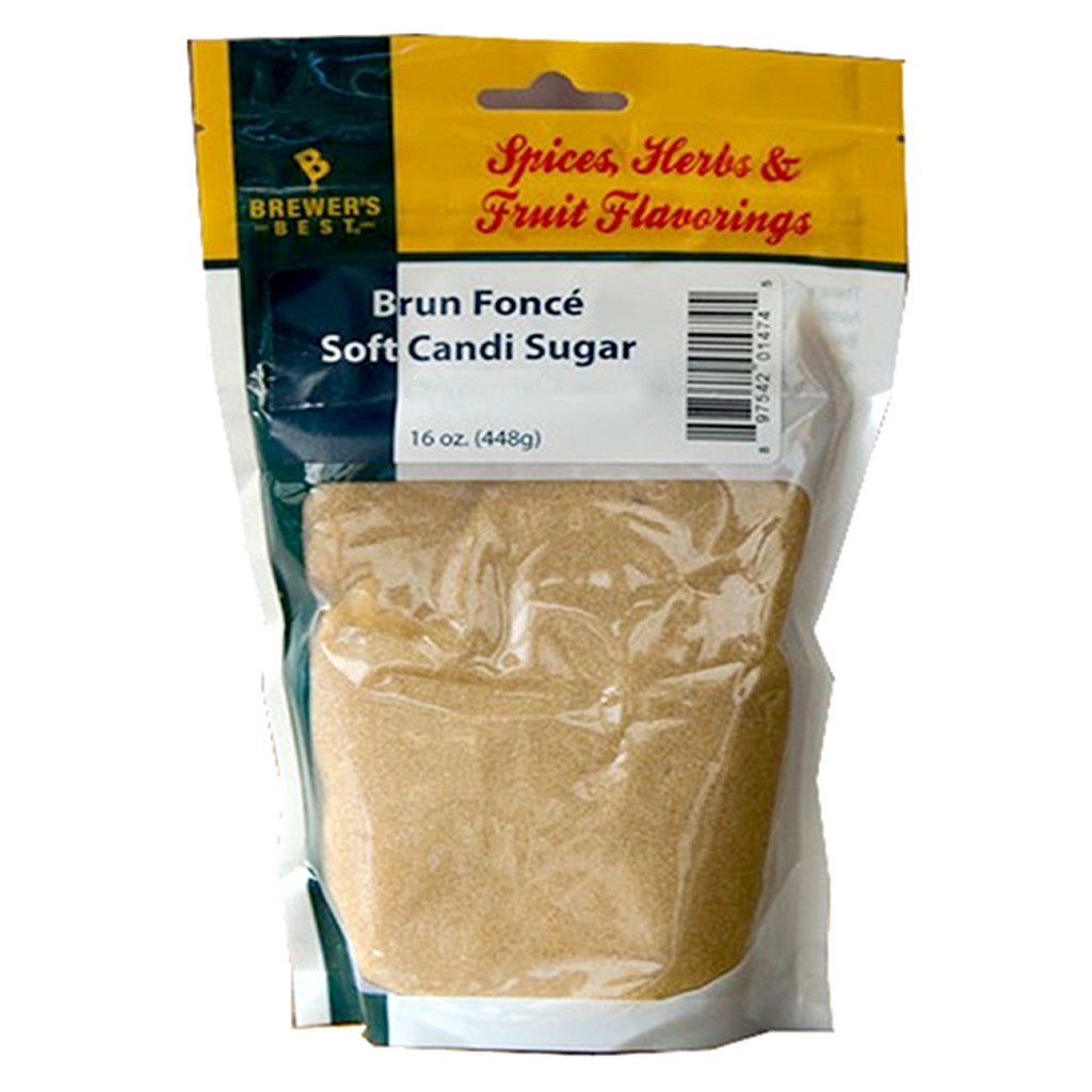 Brun Foncé (Dark Brown) Soft Candi Sugar (22 SRM), 1lb