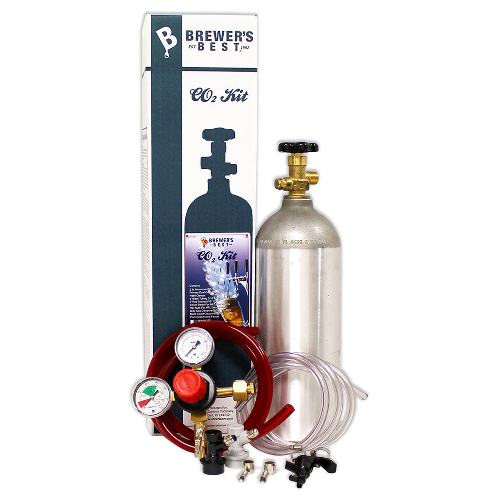 Brewer's Best CO2 Homebrew Kegging Kit