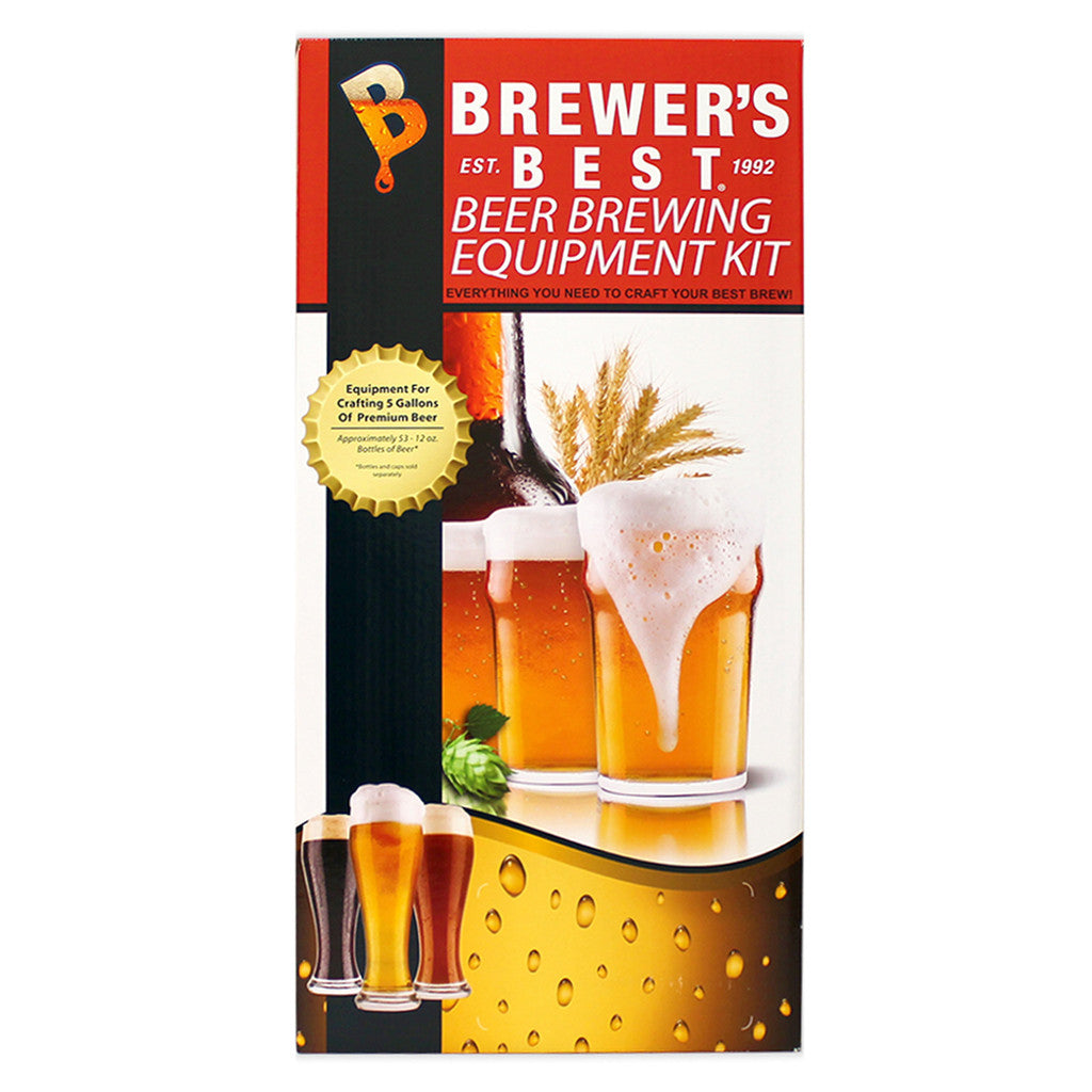 Brewer's Best Beer Making Equipment Kit