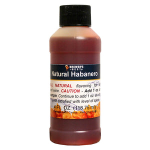 Brewer's Best Natural Habanero Flavoring, 4oz