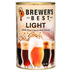 Brewer's Best Light Malt Extract, 3.3lb