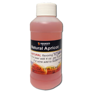 Brewer's Best Natural Apricot Flavoring, 4oz