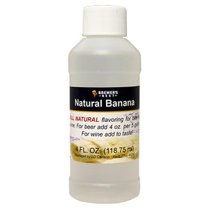 Brewer's Best Natural Banana Flavoring, 4oz