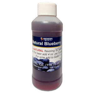 Brewer's Best Natural Blueberry Flavoring, 4oz