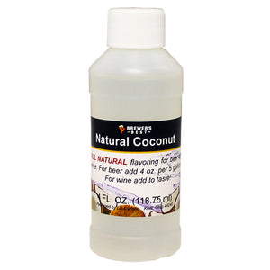 Brewer's Best Natural Coconut Flavoring, 4oz