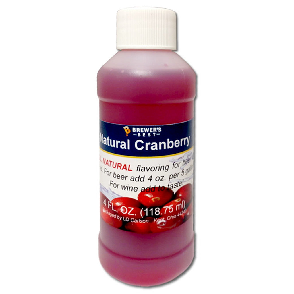Brewer's Best Natural Cranberry Flavoring, 4oz