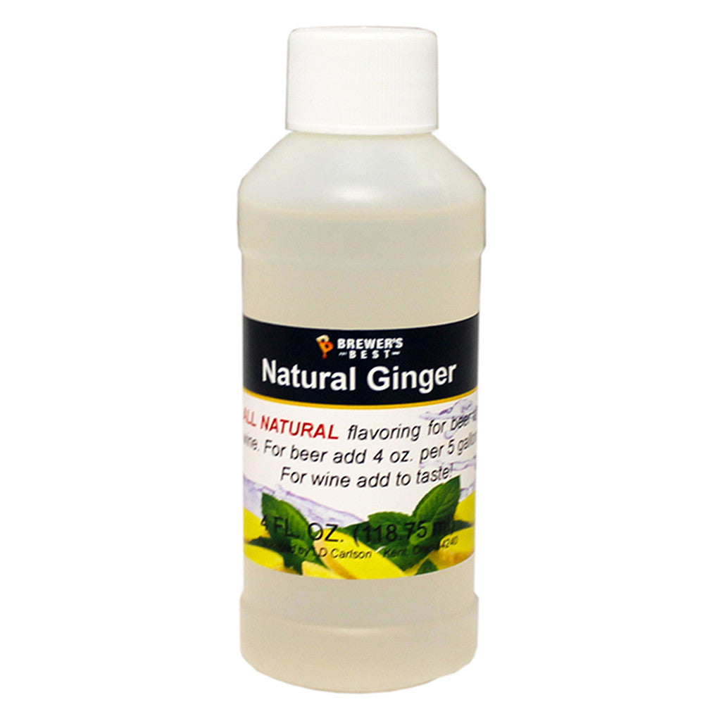 Brewer's Best Natural Ginger Flavoring, 4oz