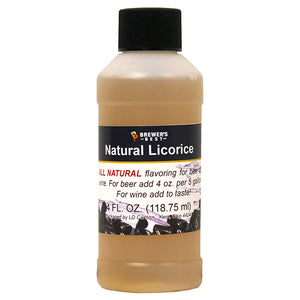 Brewer's Best Natural Licorice Flavoring, 4oz