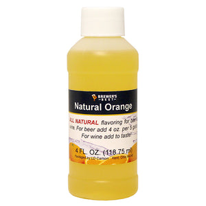Brewer's Best Natural Orange Flavoring, 4oz