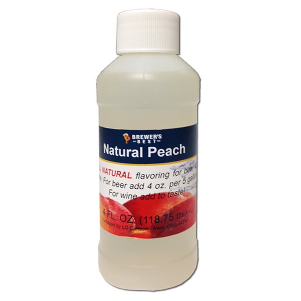 Brewer's Best Natural Peach Flavoring, 4oz