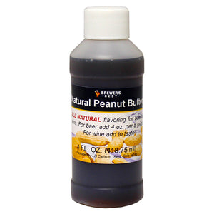 Brewer's Best Natural Peanut Butter Flavoring, 4oz
